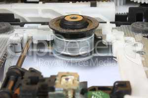 DVD Drive Mechanism