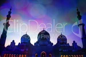 Grand Mosque Lights