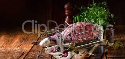 pressure ham cooker with raw ham