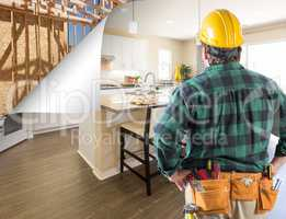 Contractor Facing Custom Kitchen with Page Corner Flipping to Co