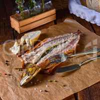 tasty smoked mackerel