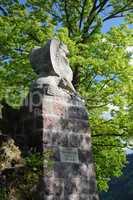 Denkmal am Schlossberg bei Freiburg