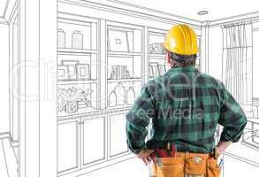 Contractor Facing Custom Built-in Shelves and Cabinets Wall Desi