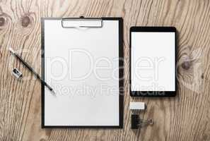 Stationery and tablet