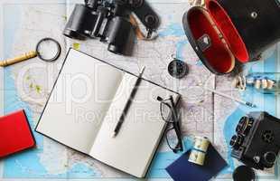 Essential traveler items