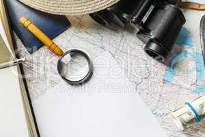 Travel stationery set