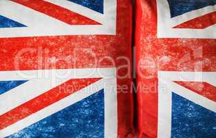 British flag texture