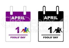 April Fools' Day calendar