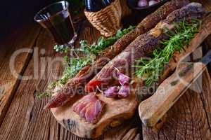 dried sirloin with herbs de provence