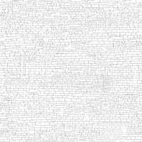Ancient brick wall background. Shabby brick wall sketch pattern