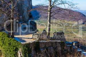 entrance to the castle Reussenstein