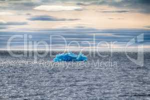 Arctic iceberg ice stock area Novaya Zemlya.