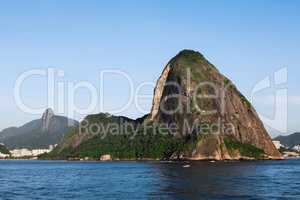 Sugar loaf from the sea
