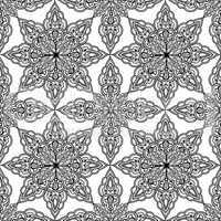 Arabic ornament background Oriental ethnic mandala ornament