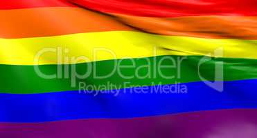 Rainbow flag background