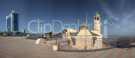 Orthodox Church in the Odessa Seaport