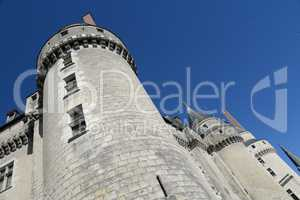 Schloss in Langeais, Frankreich