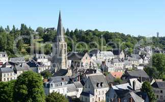 Kirche in Langeais, Frankreich
