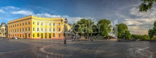 Odessa Seaside Boulevard in Ukraine