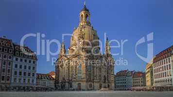 Church Of Our Lady Dresden Germany City View