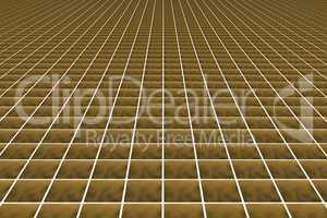 Colored square floor tiles, 3d illustration