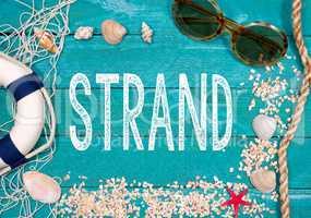 Urlaub am Strand - Sommerurlaub, Sommerferien, Schulferien