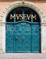 Museum - Tür Eingang