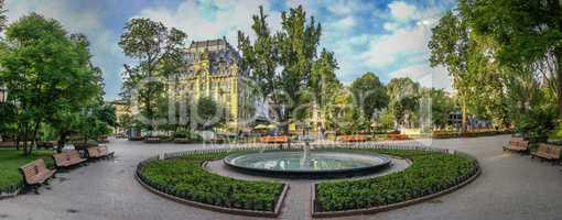 Odessa City Garden panorama, Ukraine