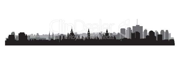 Canada city skyline. Ottawa cityscape view. Travel background