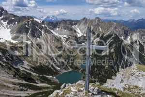 Gipfel der Soierngruppe in Bayern