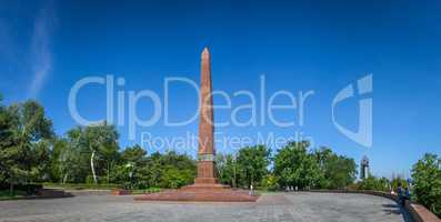 Monument to Unknown Sailor in Odessa, Ukraine