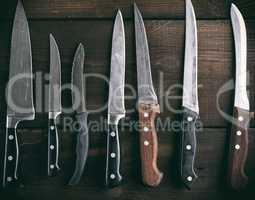 used different kitchen knives