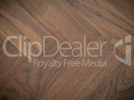 Old used walnut floor