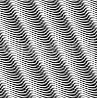 Abstract geometric wave pattern. Sripe wavy line texture