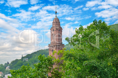 Church of the Holy Spirit in Heidelberg, Germany ,Europe.