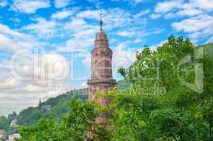 Church of the Holy Spirit in Heidelberg, Germany ,Europe.