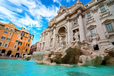 Fountain in Rome, Italy