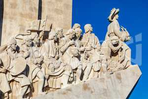 Monument for the seafarers in Lisbon Portugal