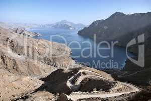 Jebel al Harim fjord