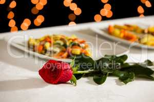 A rose to celebrate an event
