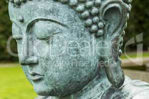 Buddhism / Buddha Statue with enlightenment