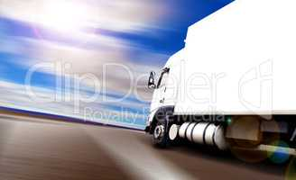 Delivering and logistic transport concept