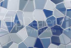 Tile shine background tessellation