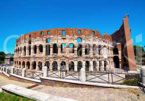 View of Coliseum