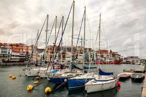 Port of Lekeitio northern Spain
