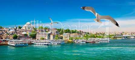 Golden Horn Bay of Istanbul
