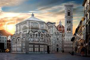 Famous Cathedral in Florence