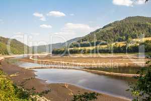 Ausgetrockneter Fluss