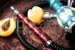 Egyptian shisha with apricot