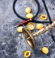 oriental shisha with apricot